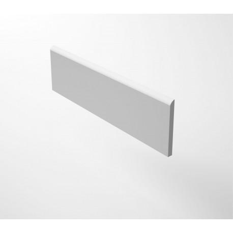 Rodapie 10x60 Neutra White Cifre Cerámica