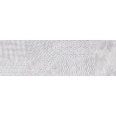 Materia Textile White 25x80