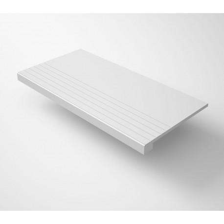 Peldaño Gradone Recto Cifre Granite White 120x60