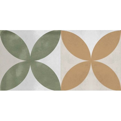 Cifre Decor Atmosphere Decor more Olive 12,5x25