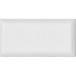 Cifre Prism Decor White 12,5x25