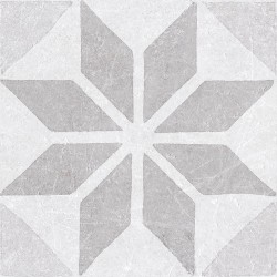 Cifre Materia Decor Star White 20x20