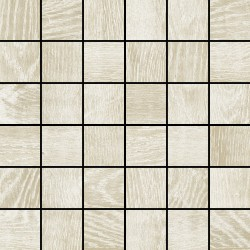 Colorker Eternal wood White mosaico 30x30 (5x5)