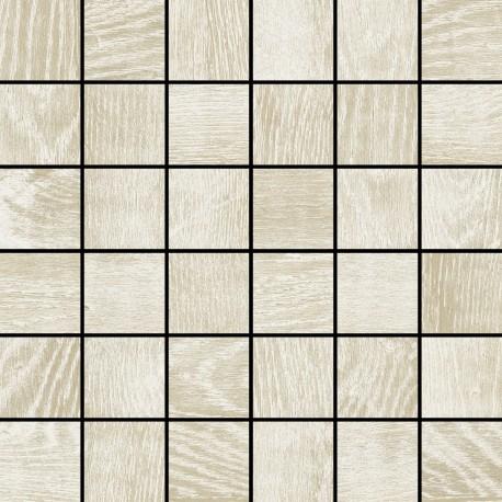 Colorker Eternal wood White mosaico 30x30 (5x5)