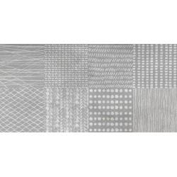 Three. Detroit Grey accent 30x60 Porcelanico cemento