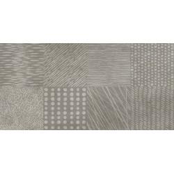 Three. Detroit Taupe Porcelanico cemento 30x60