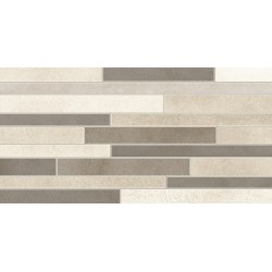 Three. Detroit Decor Fiber C 30x60 Porcelanico cemento
