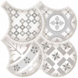 Oset Porcelaine Aran Couleurs 33x33