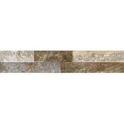 Oset Ordino Marrón Porcelanico 8X44,2 aspecto piedra