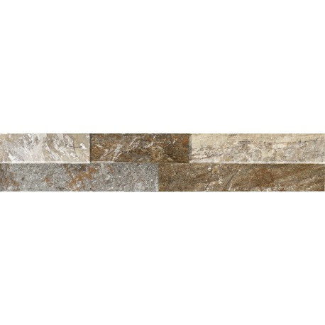 Oset Ordino Beige Porcelanico 8X44,2 aspecto piedra