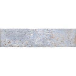 Cifre Industrial Blue 7,5x30 plaqueta de pasta blanca brillo