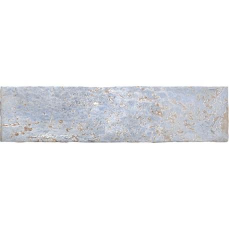 Cifre Industrielle Bleu 7,5x30 assiette de pâtes blanches brillent