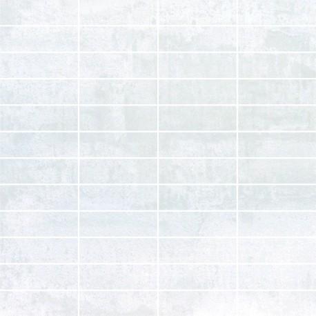 Tau Cerámica Corten Blanco malla 30x30 (3x7)
