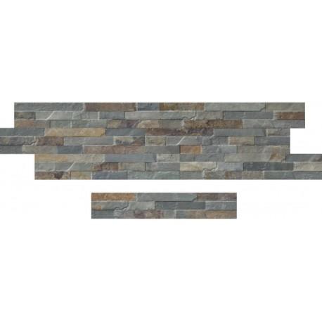 Oset de la céramique d'aspect pierre zeta Catane Óxide 8x45