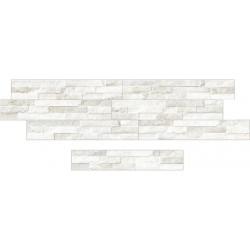 Oset cerámica aspecto piedra zeta Catania White 8x45