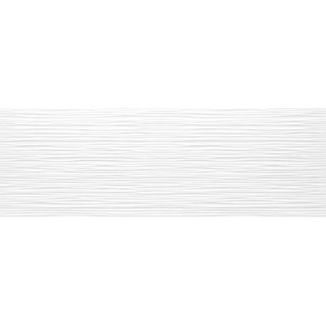 Tau Cerámica Sun blanco relieve Dunas azulejos 25x75