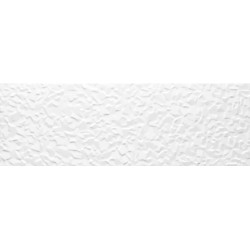 Tau Cerámica Sun blanco relieve Iceberg azulejos 25x75