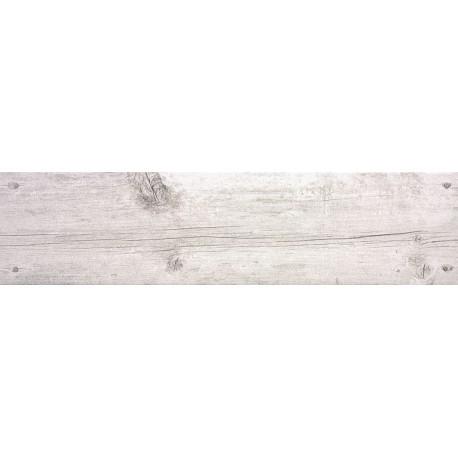 Oset Cottage White 15x60 Gres aspecto madera
