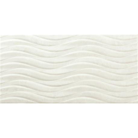 Sanchis. Azulejo para baños aspecto mármol Venice Blanco 30x60