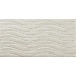 Sanchis. Carrelage de salle de bain aspect marbre Venice Pearl 30x60