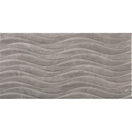 Sanchis. Carrelage de salle de bain aspect marbre Venice Gris 30x60