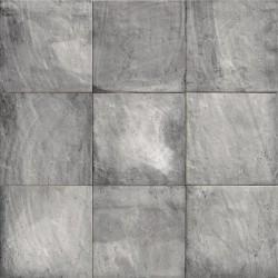 Mainzu. Pavimento imitación a barro Forlí Grey 20x20