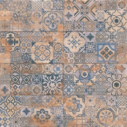 Mainzu. Carrelage rustique imitation argile vieillie Decor Aterra 15x30