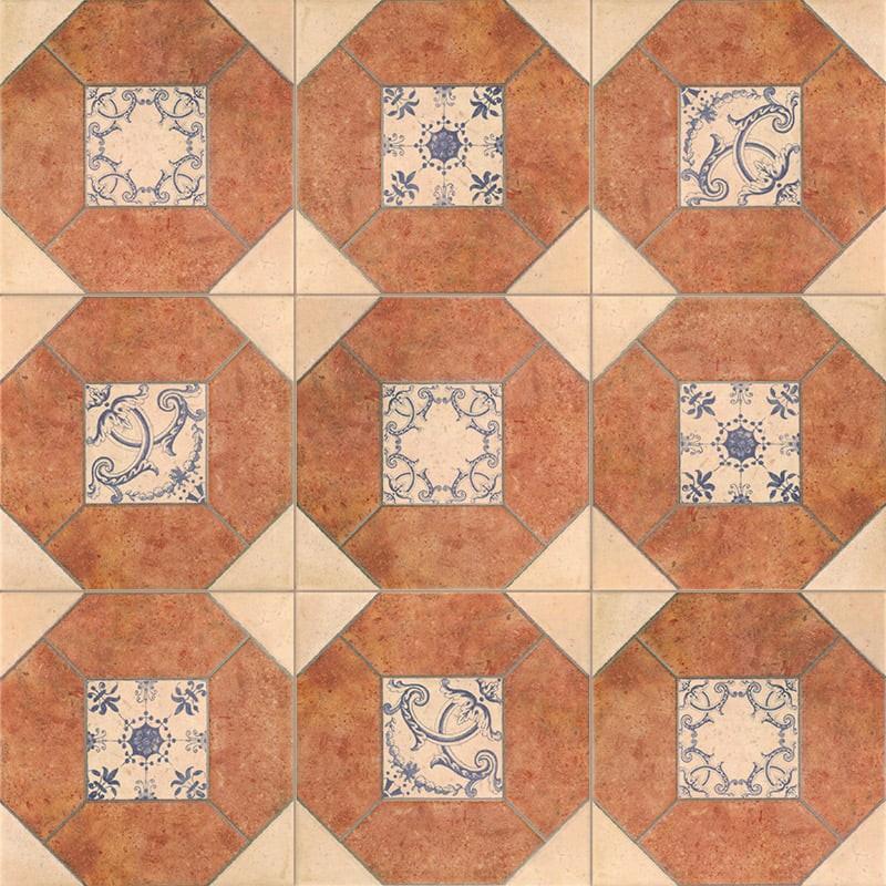 Mainzu. Carrelage rustique Olhambrilla barro 3 20x20