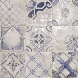 Mainzu. Azulejo imitación Cotto Cemento Ricordi Bianco 20x20