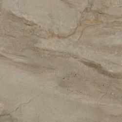 Baldocer. Grès cérame Pienza Miele aspect marbre poli 80x80