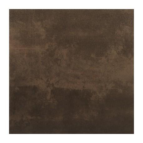 Azulejos Sanchis. Porcelánico efecto cemento óxido Reaction Moka 45x45