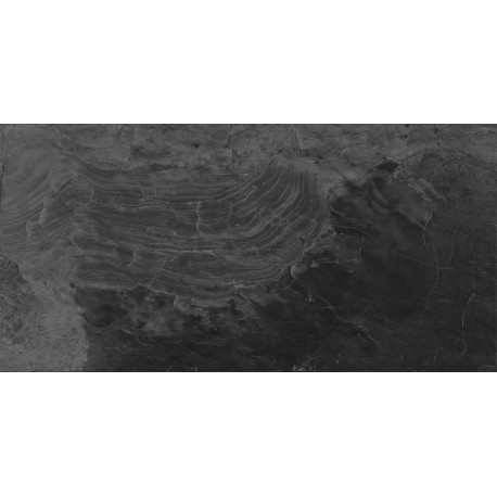 Keros.Carrelage piscines aspect bali Bierzo noir 33x67